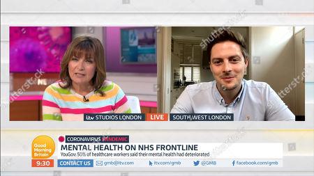 Lorraine Kelly, Dr Alex George