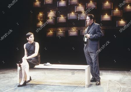 Editorial image of 'Closer' Play performed in the Cottesloe Theatre, National Theatre, London, UK 1997 - 30 Apr 2020
