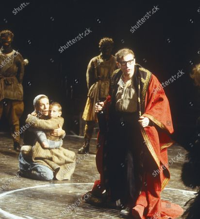 Stock Photo of Simon McBurney Juliet Stevenson