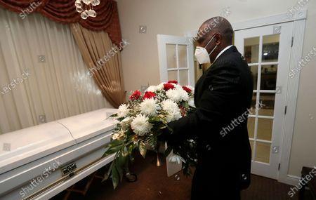 Editorial picture of Dawson Funeral Home, Miami, United States - 30 Apr 2020