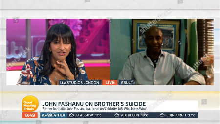 Editorial picture of 'Good Morning Britain' TV Show, London, UK - 01 May 2020