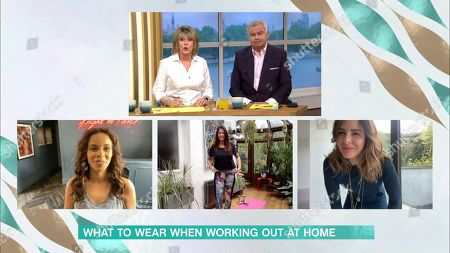 Ruth Langsford and Eamonn Holmes and Rochelle Humes and Lisa Snowdon and Trinny Woodall