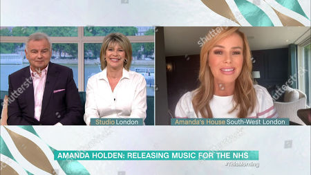 Ruth Langsford and Eamonn Holmes and Amanda Holden