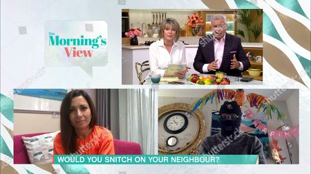 Editorial image of 'This Morning' TV show, London, UK - 01 May 2020