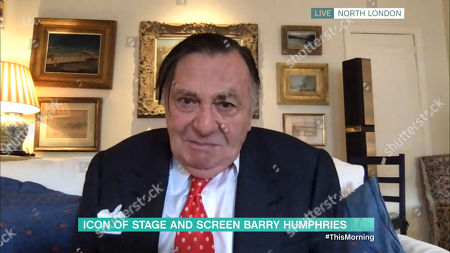 Stock Photo of Barry Humphries