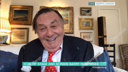 Stock Picture of Barry Humphries