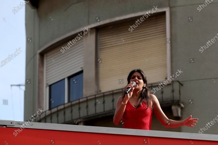 Editorial image of Portugal Lisbon Covid 19 Concert - 01 May 2020