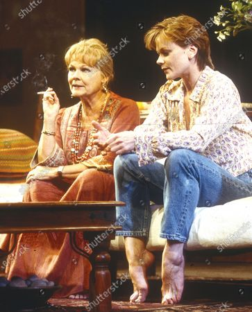 Stock Image of Judi Dench. Samantha Bond