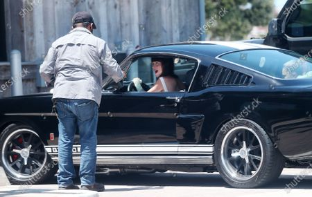 Editorial picture of Dakota Johnson and Apple Martin out and about, Los Angeles, USA - 02 May 2020