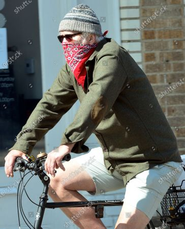 Editorial image of EXCLUSIVE - Tim Robbins out and about, Venice, Los Angeles, USA - 02 May 2020