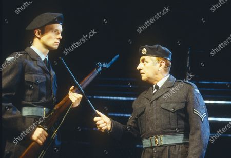 Editorial image of 'Chips with Everything' Play performed in the Lyttelton Theatre, National Theatre, London, UK 1997 - 02 May 2020