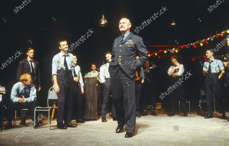 Editorial photo of 'Chips with Everything' Play performed in the Lyttelton Theatre, National Theatre, London, UK 1997 - 02 May 2020