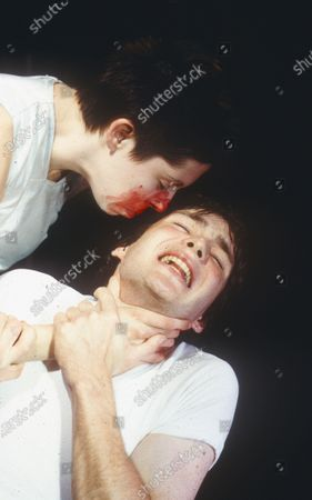 Editorial picture of 'Disco Pigs' Play performed at the Bush Theatre, London, UK 1997 - 02 May 2020