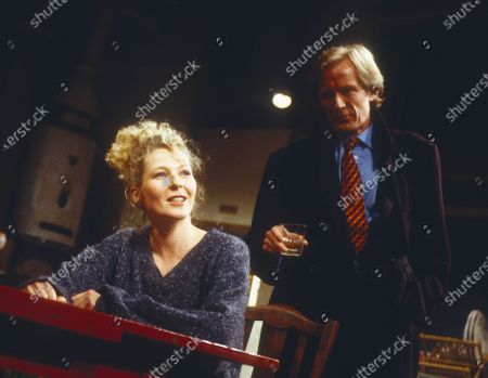 Stock Picture of Stella Gonet. Bill Nighy