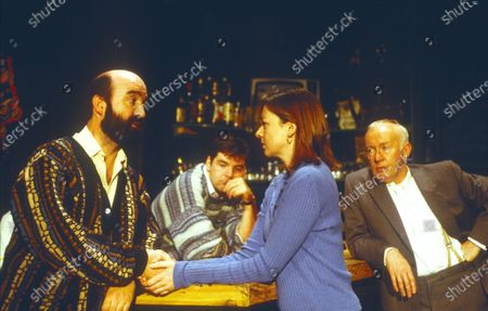 Editorial photo of 'The Weir' Play performed at the Royal Court Theatre, London, UK 1997 - 02 May 2020