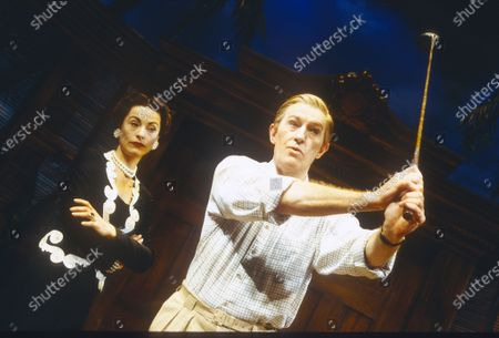 Editorial image of 'HRH' Play performed at the Playhouse Theatre, London, UK 1997 - 03 May 2020