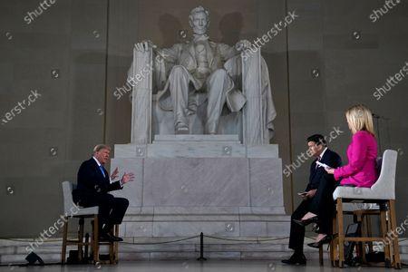 Editorial image of Virus Outbreak Trump, Washington, United States - 03 May 2020