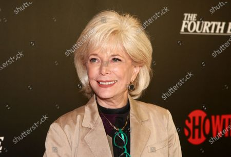 """Lesley Stahl attends a panel discussion about the Showtime documentary """"The Fourth Estate,"""" at TheTimesCenter in New York. Stahl said, that she's finally feeling well after a battle with COVID-19 that left her hospitalized for a week. Stahl said she was """"really scared"""" after fighting pneumonia caused by the coronavirus for two weeks at home before going to the hospital"""