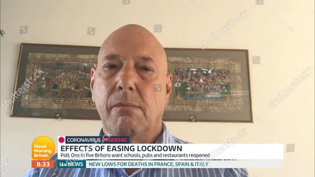 Editorial picture of 'Good Morning Britain' TV Show, London, UK - 04 May 2020
