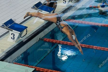 Olympic Italian swimmer Federica Pellegrini starts training in Verona, Italy, 04 May 2020. The Tokyo 2020 Olympic Games will start on 23 July 2021 after the games were postponed due to the coronavirus pandemic.