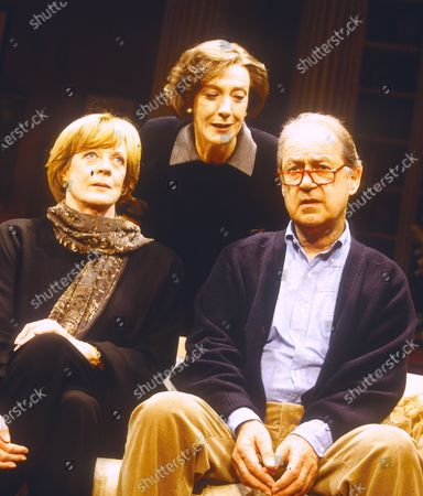 Stock Picture of Maggie Smith Eileen Atkins John Standing