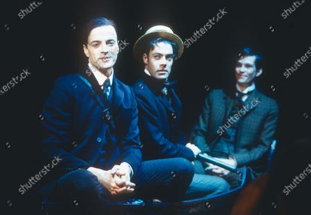 Stock Image of Paul Rhys Michael Fitzgerald  Stephen Mapes