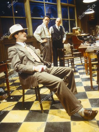 Editorial picture of 'The Front Page' Play perfomed in the Donmar Theatre, London, UK 1997 - 04 May 2020