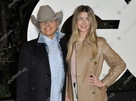 Dwight Yoakam, left, and Emily Joyce at GQ's Men of the Year Celebration in West Hollywood, Calif. The couple were married in March just prior to the quarantine in a private ceremony at St Monica Catholic Church in Santa Monica, Calif
