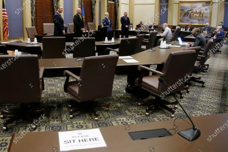 Editorial picture of Oklahoma Budget, Oklahoma City, United States - 04 May 2020