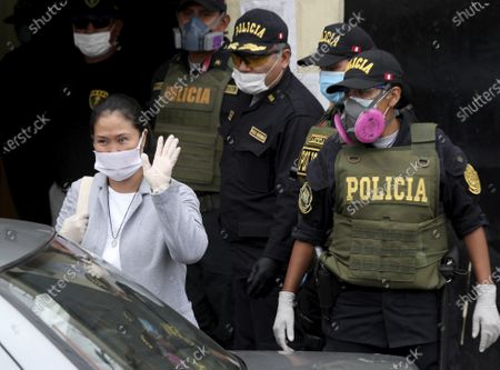 Editorial picture of Fujimori, Lima, Peru - 04 May 2020