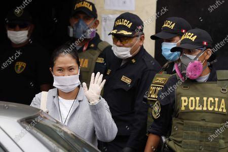 Editorial photo of Keiko Fujimori is released from prison, Lima, Peru - 04 May 2020