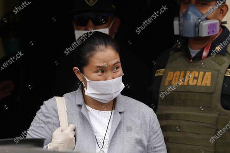 Editorial image of Keiko Fujimori is released from prison, Lima, Peru - 04 May 2020