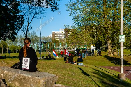 Editorial picture of Remembrance Day was celebrated without an audience in Nijmegen, Netherlands - 04 May 2020