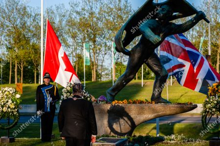 Editorial image of Remembrance Day was celebrated without an audience in Nijmegen, Netherlands - 04 May 2020