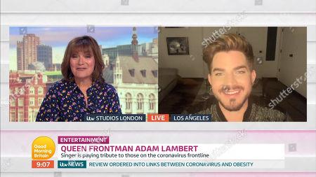 Lorraine Kelly, Adam Lambert