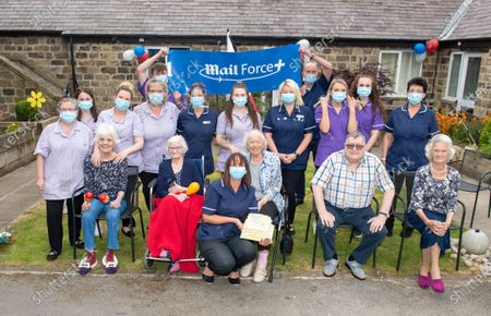 Editorial picture of Croft House care home, UK - 04 May 2020