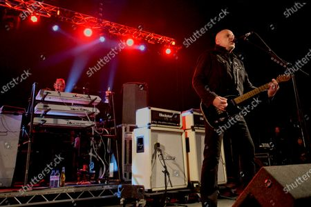 The Stranglers - Dave Greenfield and Jacques Burnel