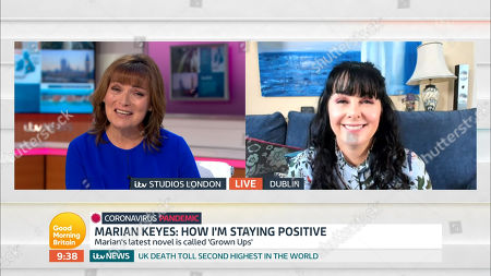 Stock Photo of Lorraine Kelly and Marian Keyes