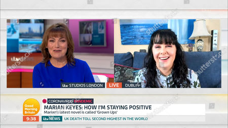 Editorial picture of 'Good Morning Britain' TV Show, London, UK - 06 May 2020