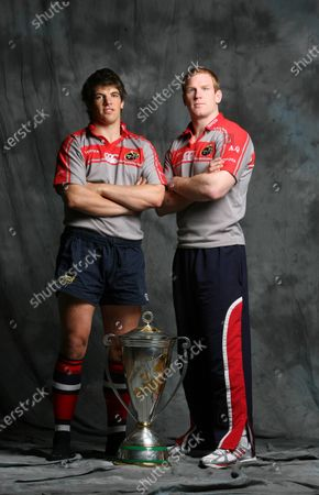 Munster Rugby Heineken Cup Winners Feature 24/5/2006. Donncha O'Callaghan and Paul O'Connell