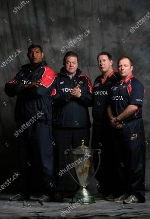 Munster Rugby Heineken Cup Winners Feature 24/5/2006. Coaching staff Jim Williams, Paul McCarthy, Brian Hickey and Tony McGahan