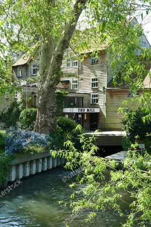 The Mill Theatre which neighbours George and Amal Clooney in Sonning remains closed