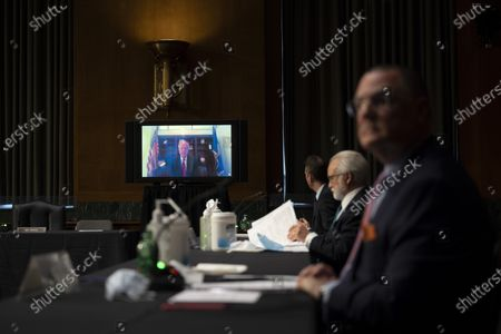 """Editorial image of US Senate Commerce Committee hearing on """"The State of the Aviation Industry: Examining the Impact of the COVID-19 Pandemic"""", Washington, District of Columbia, USA - 06 May 2020"""