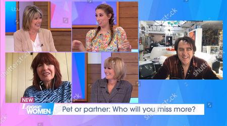 Ruth Langsford, Stacey Solomon, Jane Moore, Janet Street-Porter, Jonathan Ross