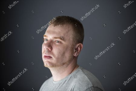 Stock Image of Dwayne Davison(27) of Nottingham who appeared on the ITV show The Jeremy Kyle Show in 2014 and 2015 and was stitched up to look and appear a certain way. He was labelled the 'Worst Guest Ever' by people online.