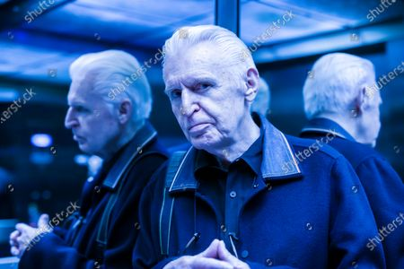 Mike McCartney, 75, brother of Sir Paul McCartney of The Beatles. Mike is a member of the Liverpudlian performance artists The Scaffold, songwriter and photographer but never left his hometown city. Mike is pictured in the elevator at the Radio City Tower in Liverpool city centre.His 1974 album McGear, produced by brother Sir Paul McCartney has been reissued by Esotric.