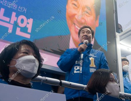 Editorial picture of South Korea's 2020 general election campaign, Seoul - 07 May 2020