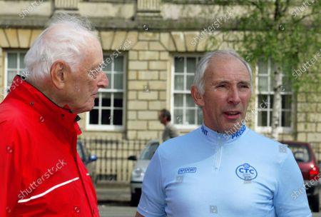 Dr Alex MOULTON and Phil LIGGETT (Pres CTC) Bath, May 2004 (Alex Aged 84 yrs)