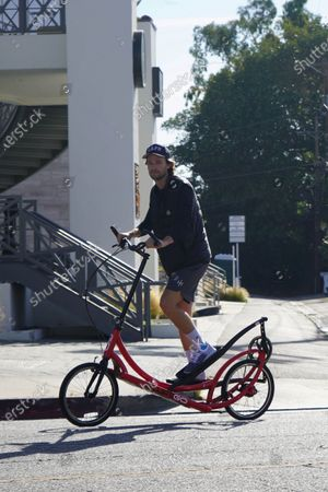 Patrick Schwarzenegger out and about during quarantine