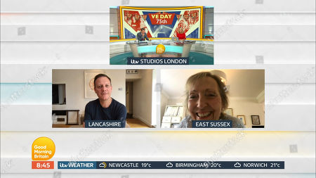 Ben Shephard and Charlotte Hawkins and Antony Cotton and Virginia Lewis
